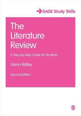 Three parts of literature review book